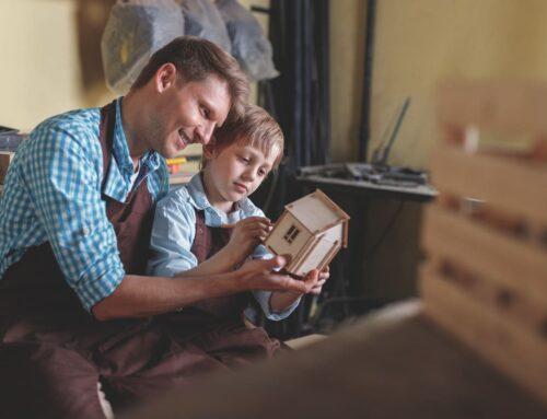 Transmettre un bien immobilier à ses enfants